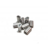 Ferrules d'aluminium double 1/16 (12)